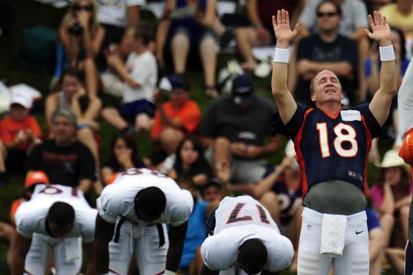 Peyton Manning Photograph: A God Among NFL Men